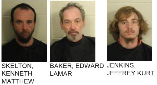 Three Arrested for Trafficking Drugs in Floyd County