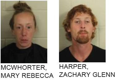 White Man, Rome Woman Arrested for Stealing Check from Elderly Woman