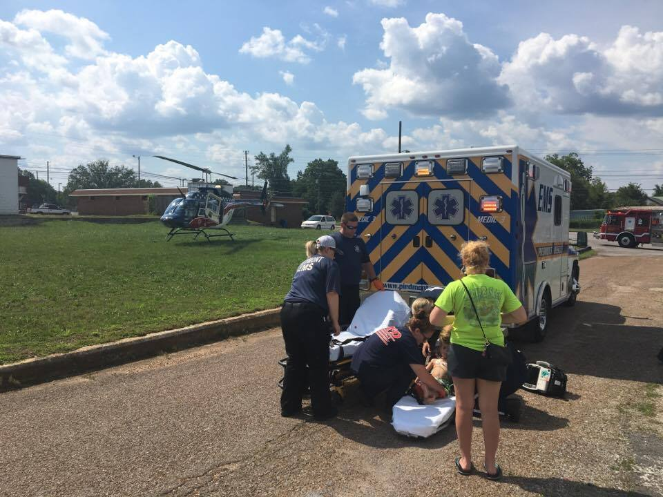 4 Year Old Airlifted To Children's Hospital After Near Drowning At The Piedmont Aquatic Center