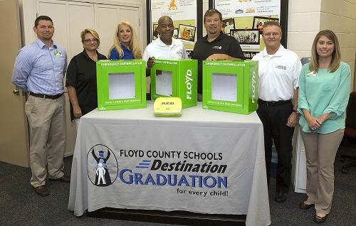 Floyd Corporate Health Completes AED Program at Area Schools