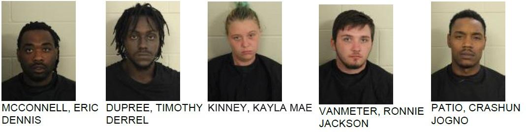 Five Arrested in Major Drug Bust at Martha Berry Hotel
