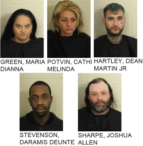 Five Facing Numerous Drug Charges in Rome