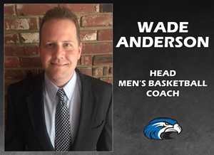 Wade Anderson Selected to Lead Shorter University Men's Basketball Program