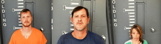 Three Adults Arrested On Drug Charges