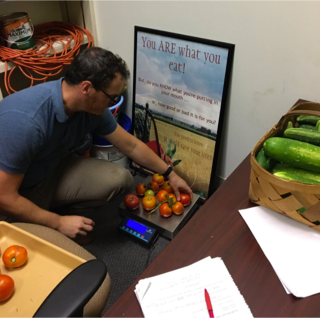 GHC grows Hundrews of Pounds of Produce to Donate