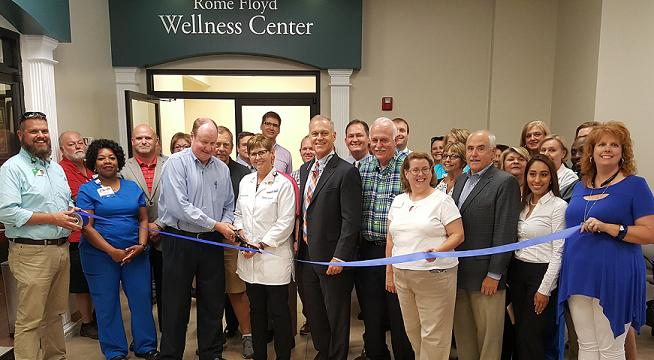 Redmond and City of Rome welcome Floyd County to  Employee Wellness Center operated by Redmond