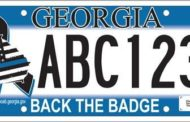 "Chattooga County Tax Commissioner Says, ""Back the Badge"" Tags Available for Order"