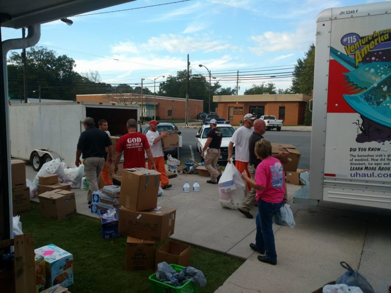 Chattooga County Sheriff Heads To Florida To Deliver Donations For Hurricane Irma