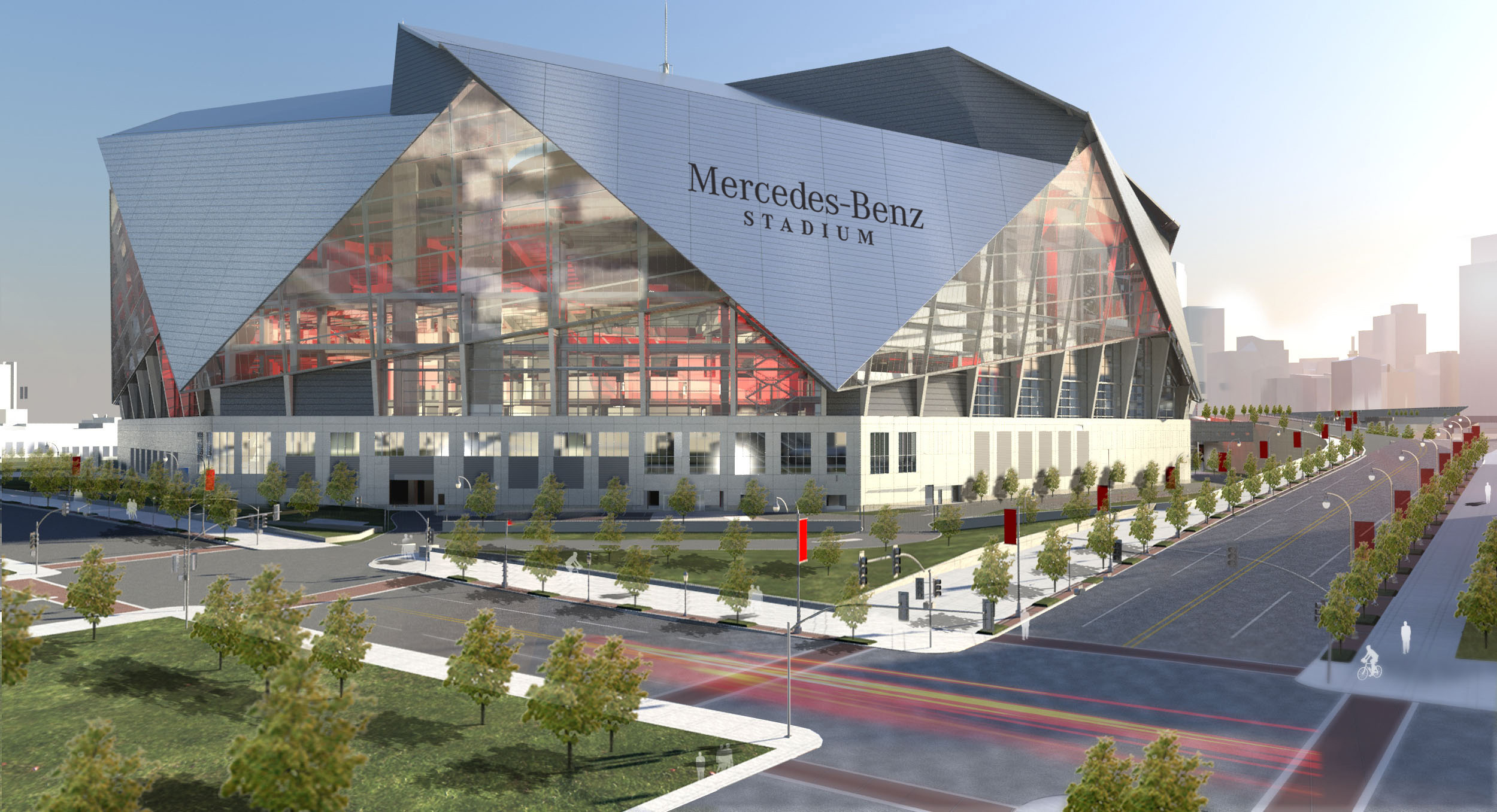 Mercedes Benz Stadium Expected To Make Use Of Its Retractable Roof For The First Time This Sunday