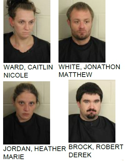 Four Arrested in Silver Creek Drug Bust