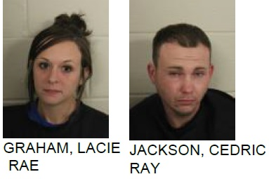 Two Arrested on Drug and Weapon Charges After Found in Stolen Car