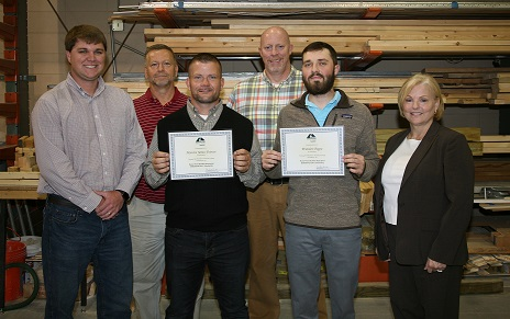 Rome Home Builders Association Awards Scholarships to GNTC Construction Management Students