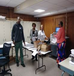 Floyd BOE prints in-house ballots to improve the voter experience