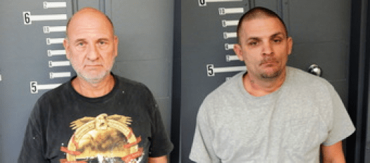 Two Arrested For Meth Possession Outside Of Centre
