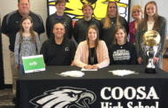 Coosa High's Taylor Roberts signs with Emmanuel College