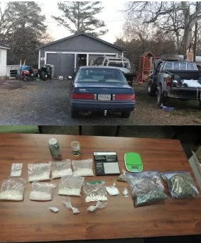 Gordon County Sheriff's Office Shuts Down 'Chop Shop', Drug Distribution Operation in Plainville, Two Arrested