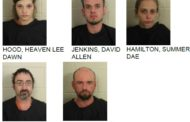 Five Arrested After Police Find Meth During Home Search