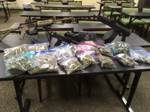 Three Month Investigation Results in Marijuana Sale/Distribution Charges and Firearms Offenses