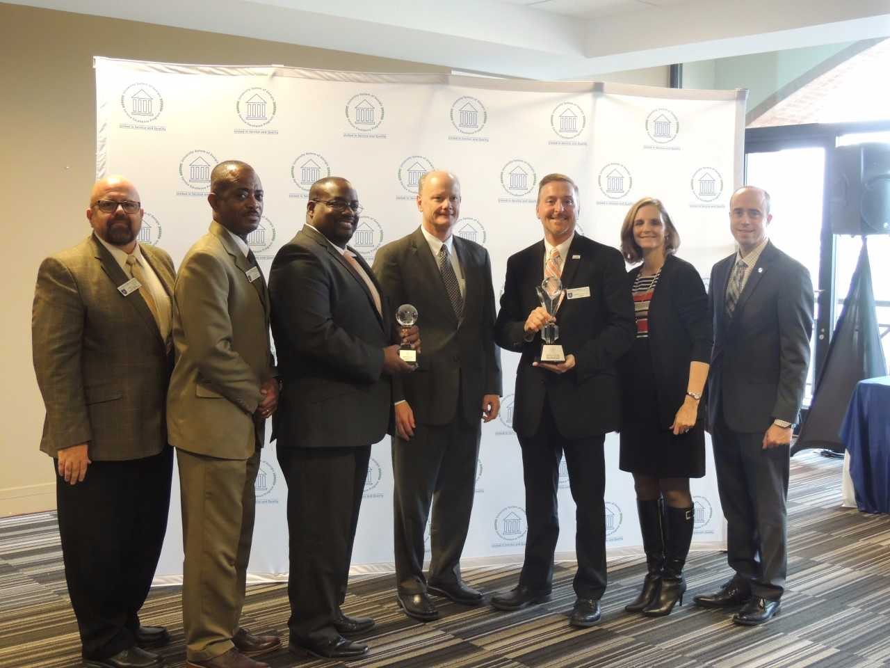 GHC earns top honors at the 2017 Chancellor's Annual Service Excellence Awards ceremony