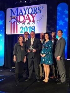 City of Cartersville Receives 2018 Live, Work, Play City Award