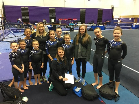 Rome Aerials Gymnastics has successful Meet in Hiram