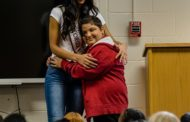 West End Fourth Graders Get a Visit from Miss Georgia