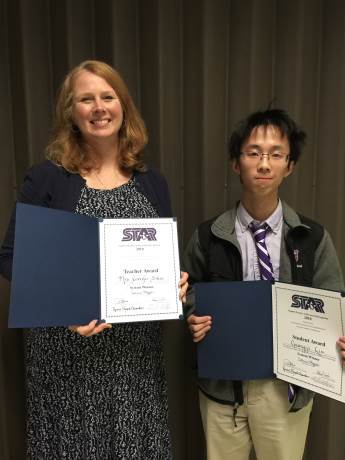 Liu Named Rome City and Regional STAR Student