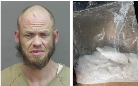 Pursuit Leads to Capture of Fugitive and Large Methamphetamine Seizure