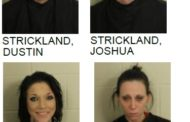 Drug Raid Nets Four Arrest on Meth and Other Charges