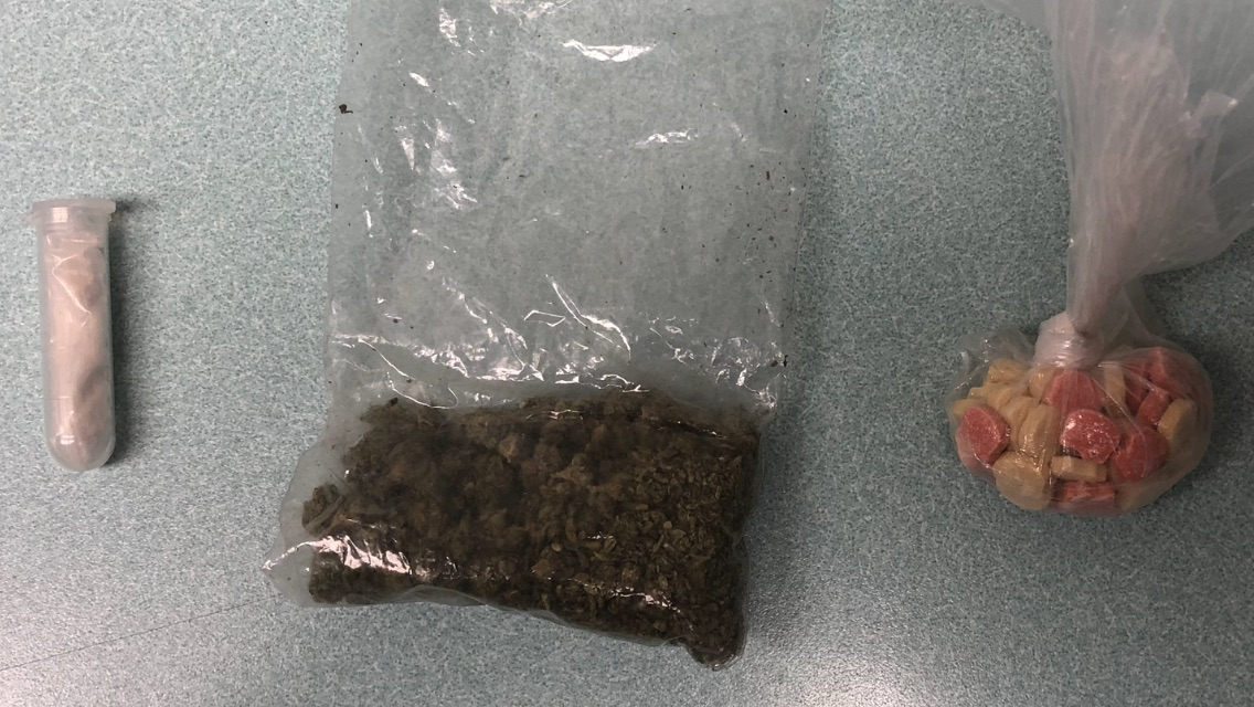Traffic Stop Leads Police to Ecstasy and Marijuana