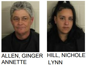 Rome Women Charged with Drug Possession