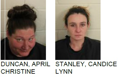 Traffic Stop Lands Rome Women in Jail on Drug Charges