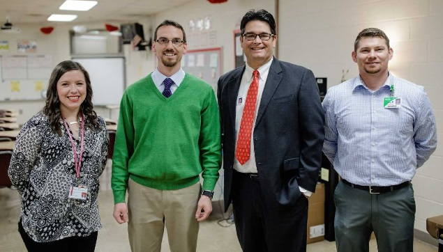 Floyd Primary Care Donates to Rome Middle School Class