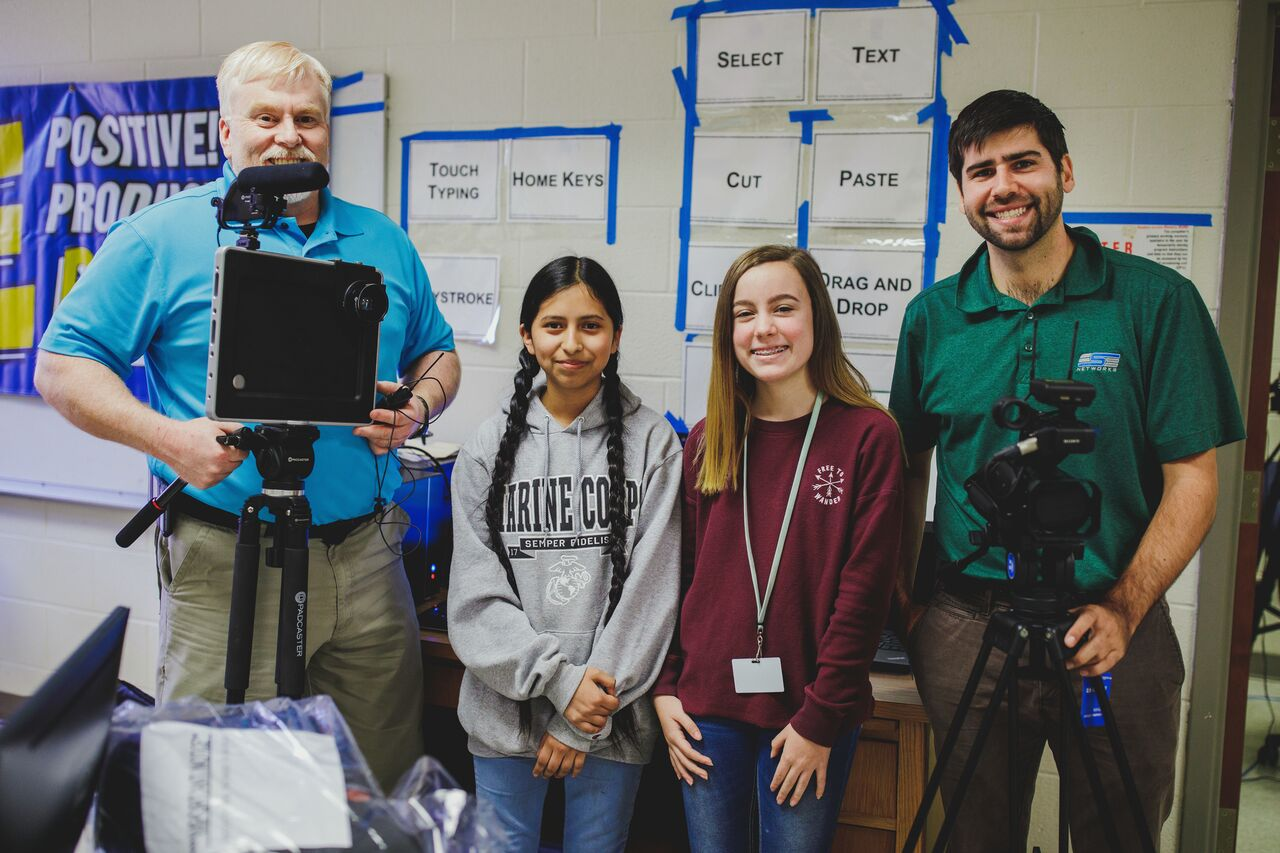 Rome Middle and High School Tech Classes Awarded Equipment Grant