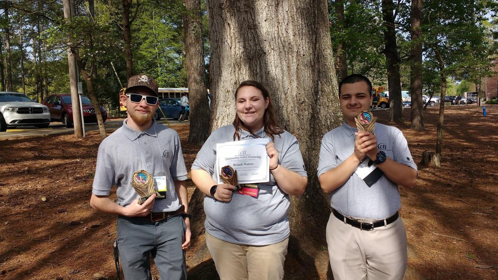 College and Career Academy Students Attend CTI State Leadership Conference