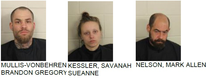 Three Arrested After police Find Meth and Stolen Truck