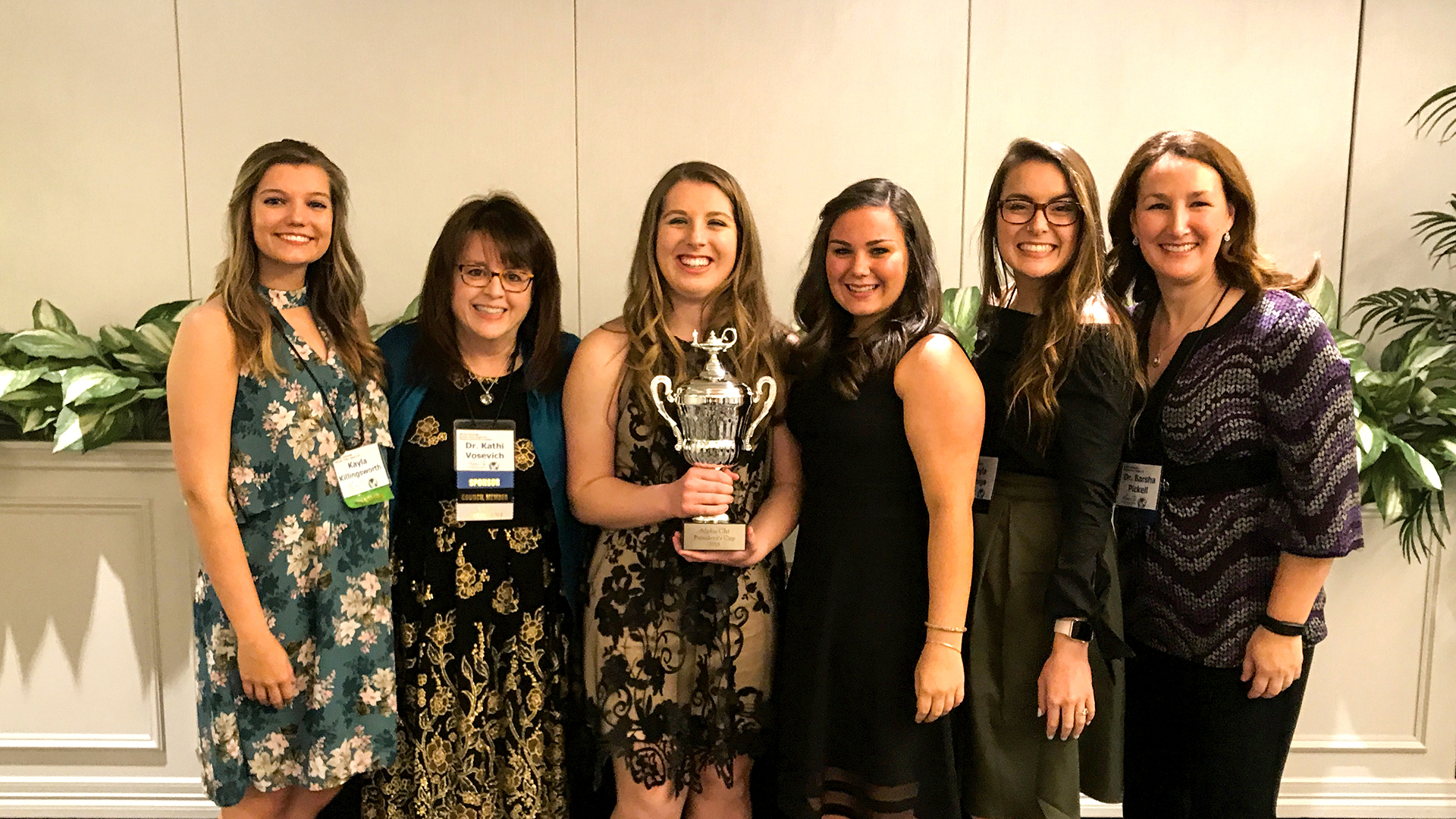 Shorter's Alpha Chi Chapter Receives Honor Society's Top Award