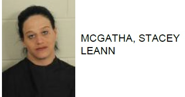 Centre Woman found with Stolen Car, Meth in Rome