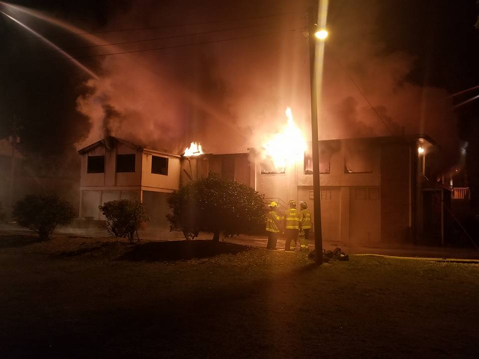 Fire Destroys Historic Floyd County Country Club Clubhouse
