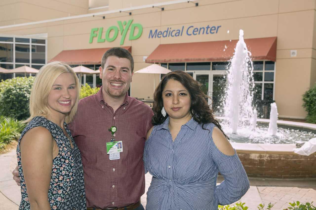 Floyd Names Top Nurse, CNA, Nurse Tech
