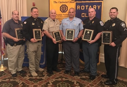 Local Police Officers Honored in Rome
