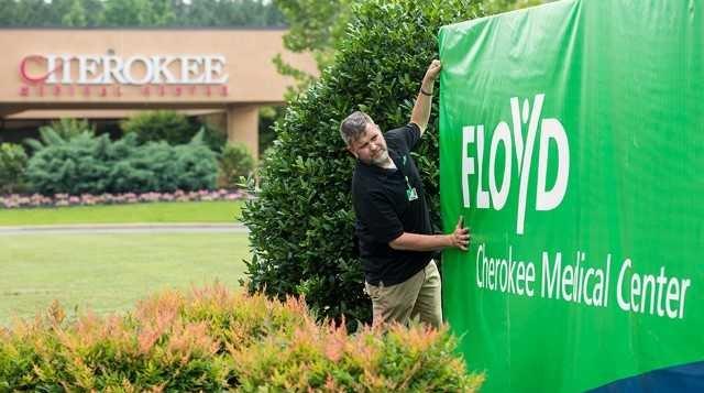 Floyd Takes Over Cherokee County Hospital