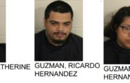 Three Arrested for Burglaring Home, Attempting to Kill Dog