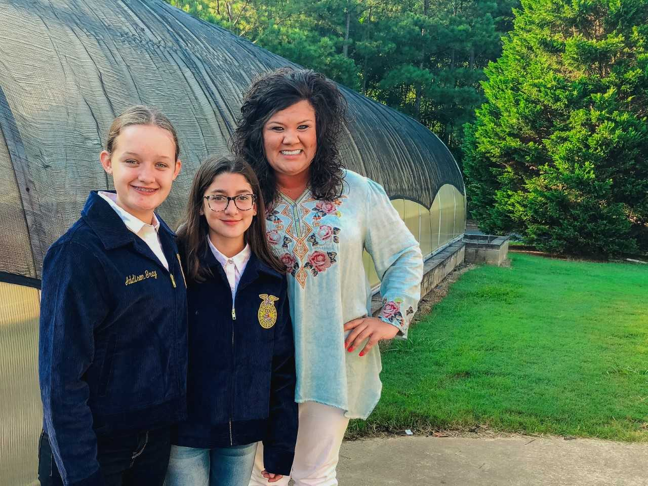 Rome Middle School Future Farmers of America (FFA) Chapter Wins Award