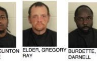 Three Men Arrested For Burglary