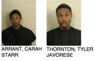 Two Individuals Caught Stealing From Walmart