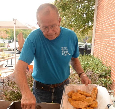 CRBI's Kissin' and Fish Frying Event