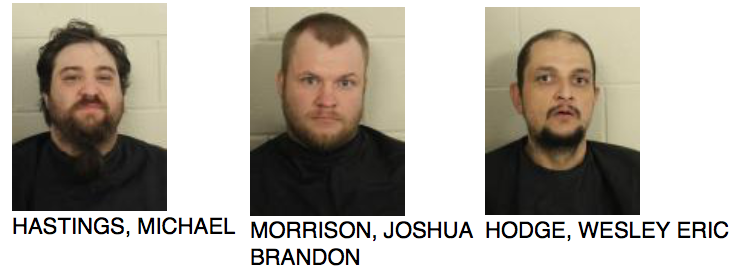 Three Individuals Arrested In Relation to Shooting