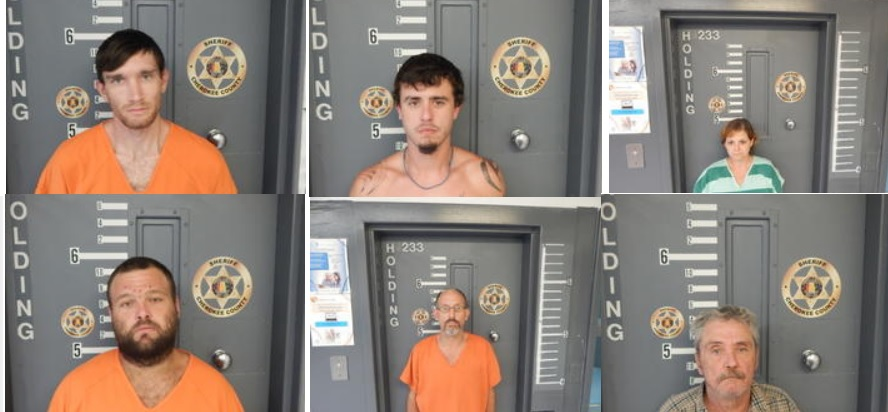8 Arrested in Cherokee County Drug Trafficking Case