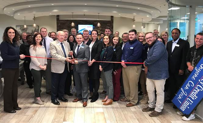 Coosa Valley Credit Union Holds Ribbon Cutting on New Location